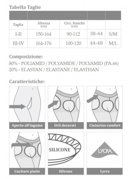 Sexy Collant aperti 80 denari Glamour Amour Sexy Collant in vendita su Tangamania Online