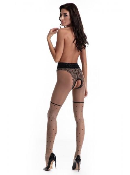 Sexy Collant aperti disponibili in 2 colori Lolita Amour Sexy Collant in vendita su Tangamania Online