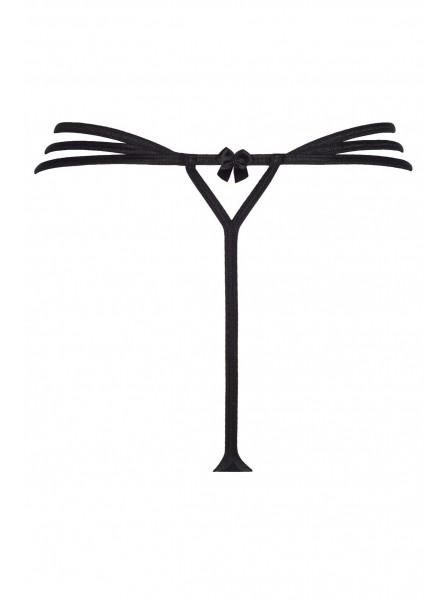 Perizoma a tripla stringa con sexy apertura Axami Lingerie in vendita su Tangamania Online