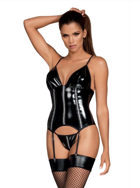 Stormea corsetto e perizoma Obsessive Lingerie in vendita su Tangamania Online