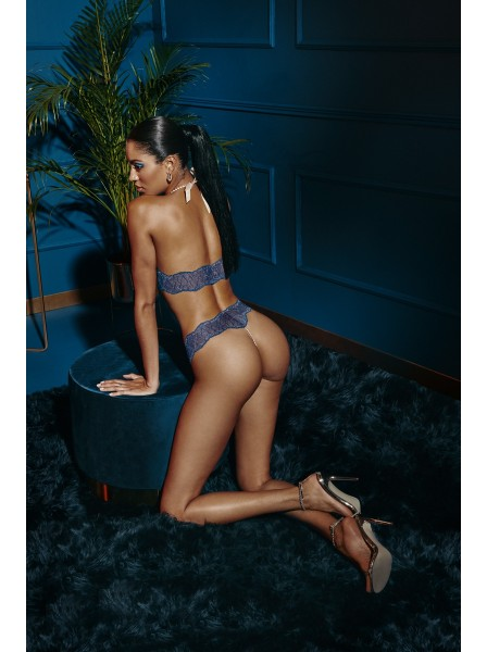 Sydney Single pearl thong blue Bracli in vendita su Tangamania Online