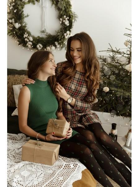 Be Merry collant 40 denari natalizi Fiore in vendita su Tangamania Online