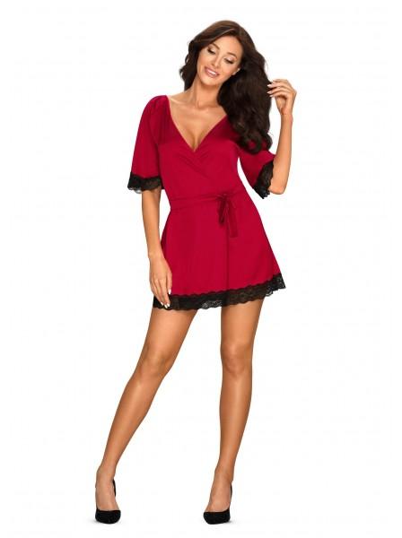 Obsessive Lingerie: Sensuelia vestaglia rossa Obsessive Lingerie in vendita su Tangamania Online