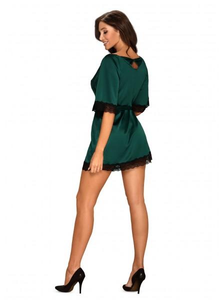 Obsessive Lingerie: Sensuelia vestaglia verde smeraldo Obsessive Lingerie in vendita su Tangamania Online