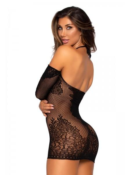 Sexy abitino elasticizzato in microfibra Leg Avenue in vendita su Tangamania Online