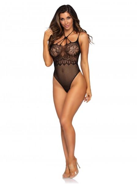 Sexy body nero a perizoma Leg Avenue in vendita su Tangamania Online