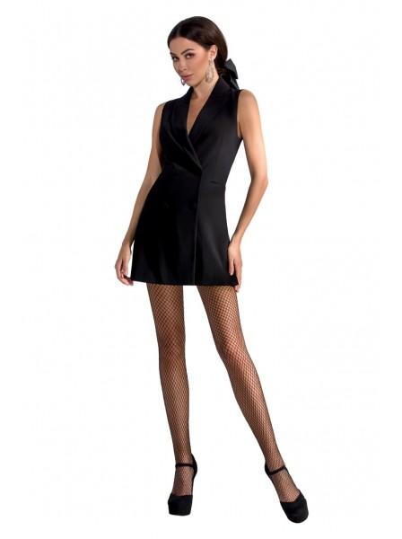 Sexy collant neri a rete Passion in vendita su Tangamania Online