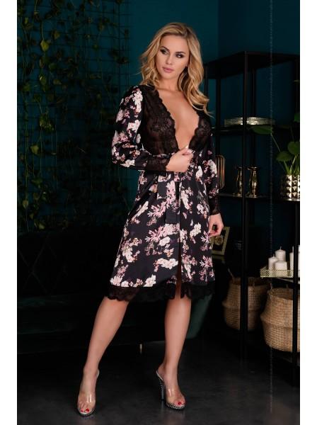 Elegante vestaglia floreale modello Maranto Livia Corsetti in vendita su Tangamania Online