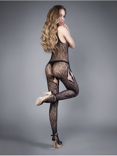 Sensuale bodystocking con intriganti effetti cut-out LeFrivole in vendita su Tangamania Online