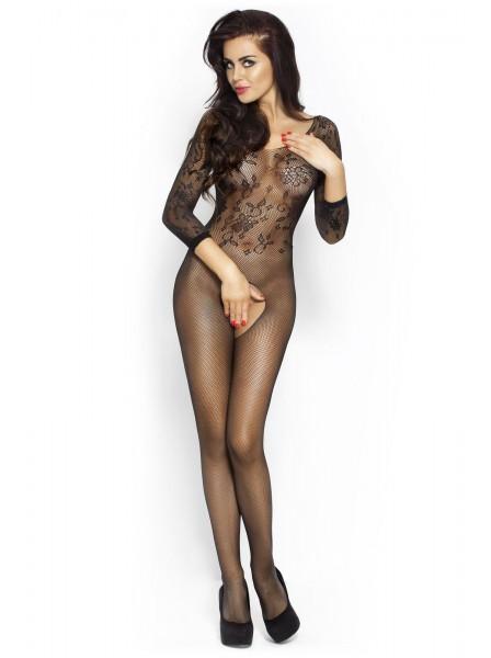 Sensuale bodystocking aperta a maniche lunghe Passion in vendita su Tangamania Online