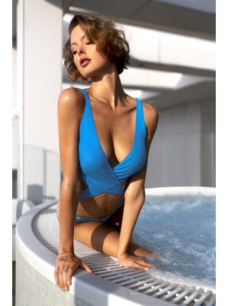Bikini con scollatura color turchese modello Cobaltica Obsessive Lingerie in vendita su Tangamania Online
