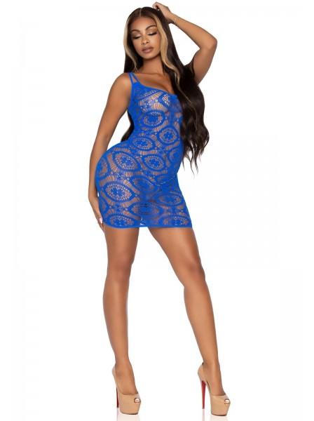 Sexy abitino blue in microfibra tessuto stretch Leg Avenue in vendita su Tangamania Online