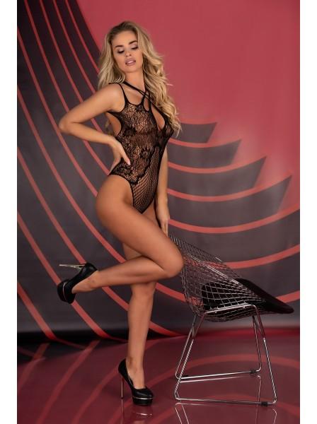 Sexy body aperto in tessuto elasticizzato Margam Livia Corsetti in vendita su Tangamania Online