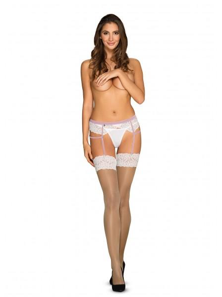 Calze per reggicalze nude collezione Obsessive Lilyanne Obsessive Lingerie in vendita su Tangamania Online