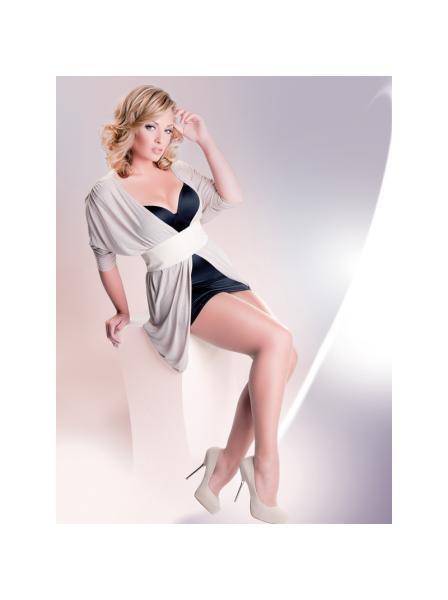 Collant 20 denari PLUS SIZE in quattro colori Gabriella in vendita su Tangamania Online