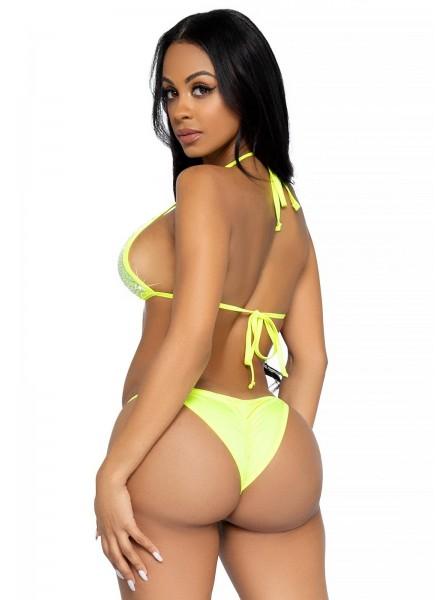 Sexy bikini con strass in 4 colori Leg Avenue in vendita su Tangamania Online