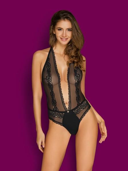 Sexy body stretch con scollatura collezione Canndis Obsessive Lingerie in vendita su Tangamania Online