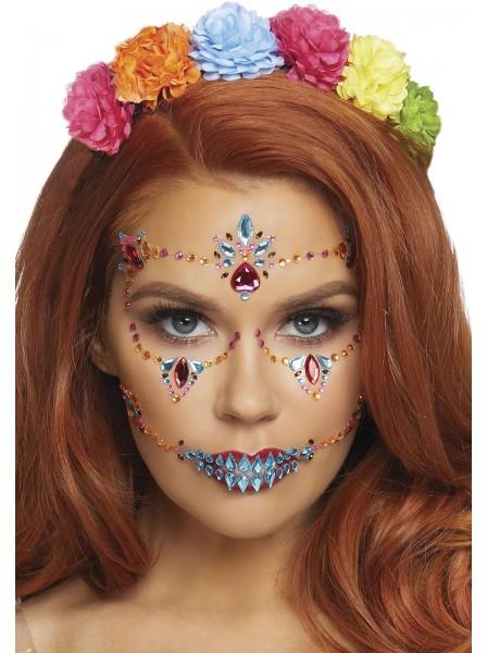 Gioiello adesivo per il viso per halloween Leg Avenue in vendita su Tangamania Online