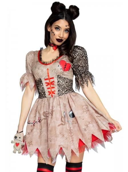 Costume Halloween bambola voodoo con accessori Leg Avenue in vendita su Tangamania Online