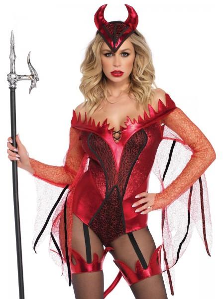 Costume halloween da diavoletta con accessori Leg Avenue in vendita su Tangamania Online