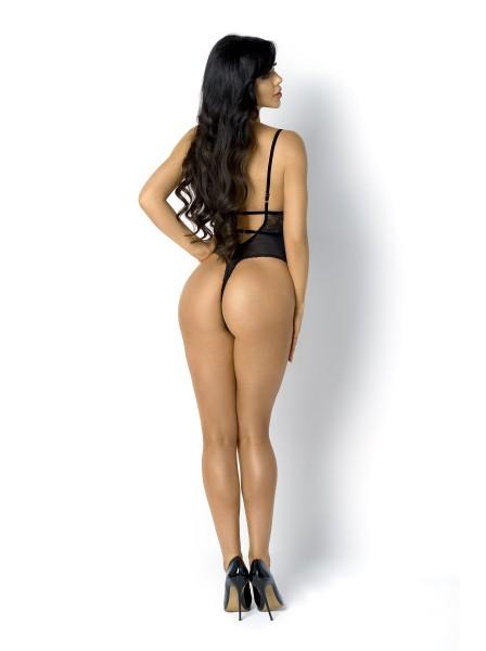Sexy body Peyton in tulle e pizzo modello a perizoma BeautyNight in vendita su Tangamania Online