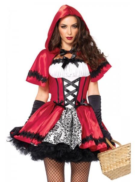 Costume da Cappuccetto Rosso travestimento per Halloween Leg Avenue in vendita su Tangamania Online