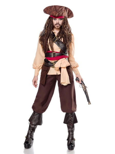Cosplay Travestimento Miss Pirata dei Caraibi Mask Paradise in vendita su Tangamania Online