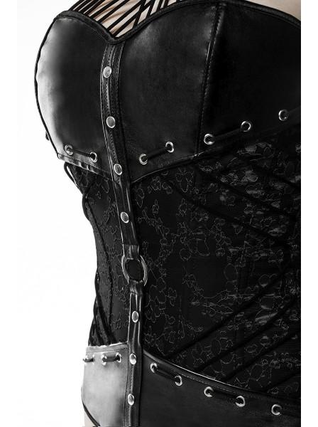 Corpetto in pelle con borchie Grey Velvet in vendita su Tangamania Online