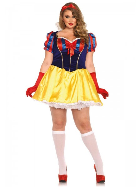 Costume curvy da Biancaneve Leg Avenue in vendita su Tangamania Online