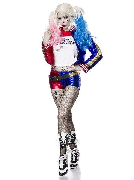 Costume da Harley Quinn, fidanzata di Joker Mask Paradise in vendita su Tangamania Online