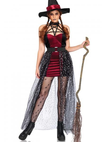 Costume Halloween da strega in velluto con gonna Leg Avenue in vendita su Tangamania Online