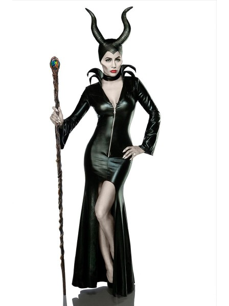 Costume Maleficent 3 pezzi  Mask Paradise in vendita su Tangamania Online