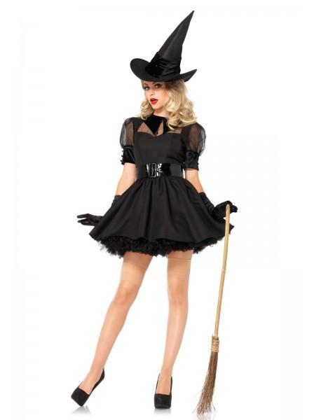 Costume per halloween da strega con cappello Leg Avenue in vendita su Tangamania Online