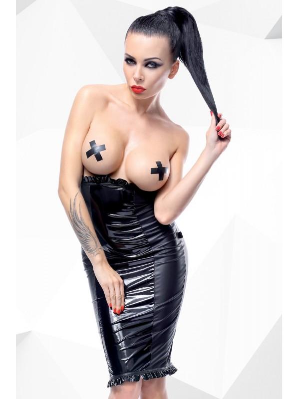 Anija gonna wetlook a vita alta Demoniq in vendita su Tangamania Online