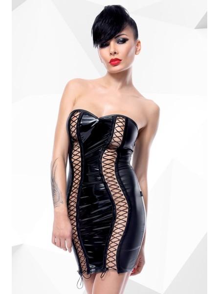 Astrid mini abito con aperture a stringhe Demoniq in vendita su Tangamania Online
