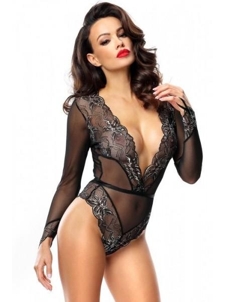 Axelle body a perizoma con maniche lunghe Demoniq in vendita su Tangamania Online