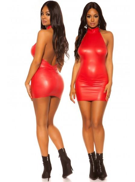 Abitino wetlook con schiena nuda in tre colori ALTRI BRAND in vendita su Tangamania Online