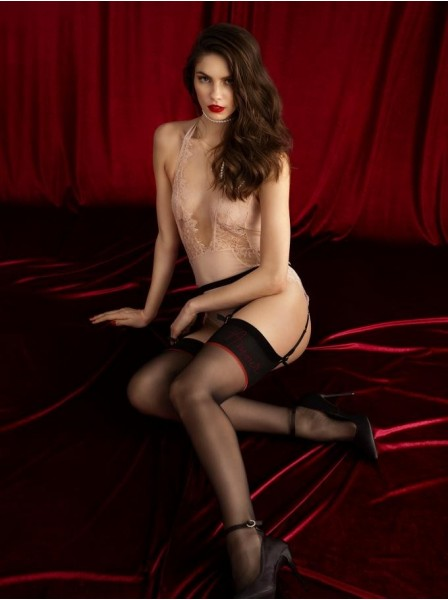 Amante calze da reggicalze 20 denari  Fiore in vendita su Tangamania Online