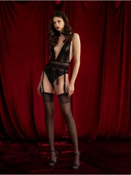 Misty Moon calze da reggicalze con balza decorata da stelline Fiore in vendita su Tangamania Online