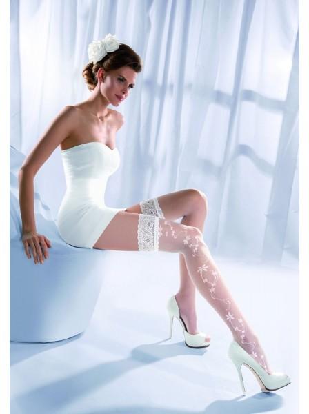 Calze Sposa autoreggenti modello Princessa 07 Gabriella in vendita su Tangamania Online