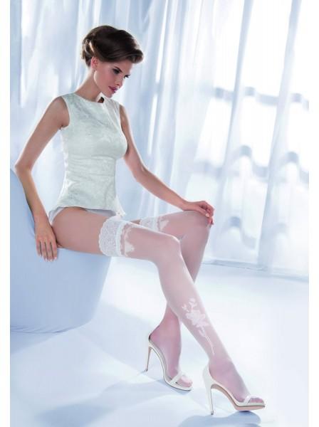 Calze Sposa autoreggenti modello Princessa 09 Gabriella in vendita su Tangamania Online
