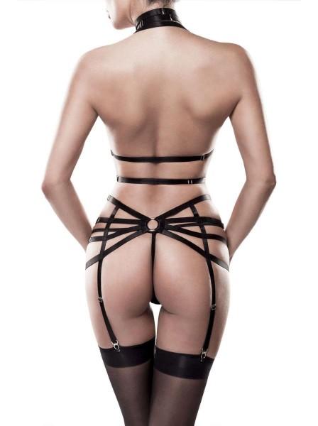 Set imbracatura tre pezzi Grey Velvet in vendita su Tangamania Online