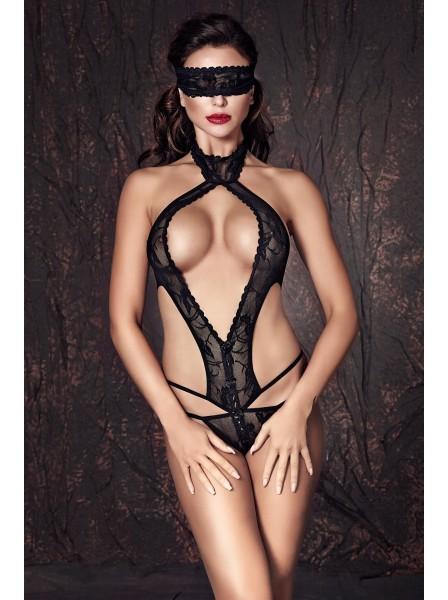 Alexandra body in pizzo a perizoma con mascherina Anais in vendita su Tangamania Online