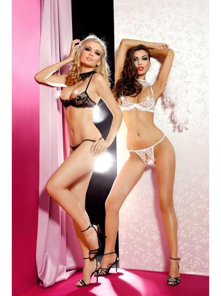 Sexy lingerie aperta in coordinato modello Hope Anais in vendita su Tangamania Online