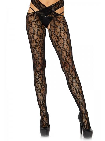 Collant incrociato con sexy aperture Leg Avenue in vendita su Tangamania Online