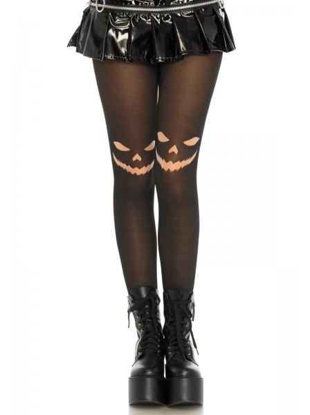 Collant opachi con stampa Halloween Leg Avenue in vendita su Tangamania Online
