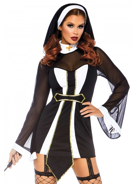 Costume da suora due pezzi Leg Avenue in vendita su Tangamania Online