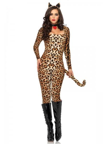 Costume leopardato tre pezzi Leg Avenue in vendita su Tangamania Online