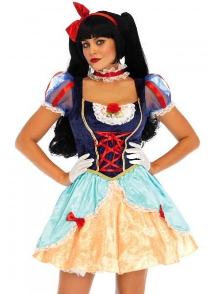 Costume Lolita Biancaneve quattro pezzi Leg Avenue in vendita su Tangamania Online