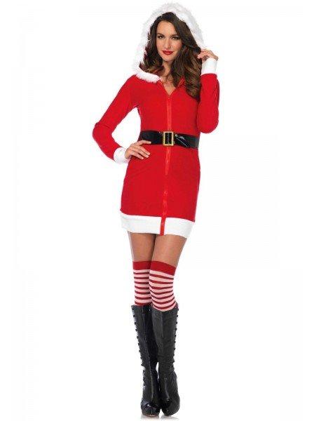 Costume natalizio Cozy Santa Leg Avenue in vendita su Tangamania Online